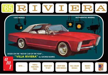 AMT 1121 1:25 1965 Buick Riviera (George Barris) Model Kit