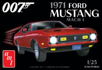 AMT 1187 1:25 James Bond 1971 Ford Mustang Mach I Model Kit