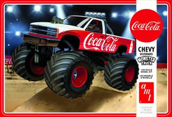AMT 1184 1:25 1988 Chevy Silverado Monster Truck (Coca-Cola) Model Kit