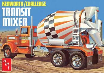 AMT 1215 1:25 Kenworth/Challenge Transit Cement Mixer Model Kit