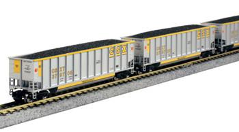 Kato 1064627 N Bethgon Coalporter 8-Car Set CSX