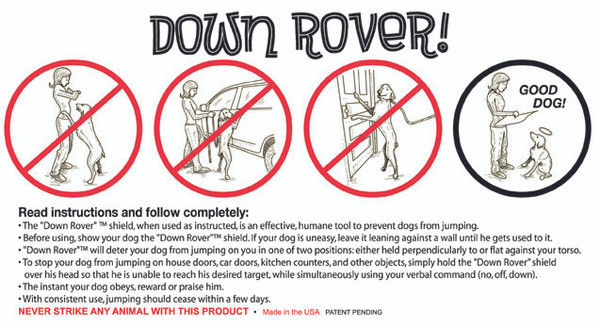 """Down Rover"" instructions"