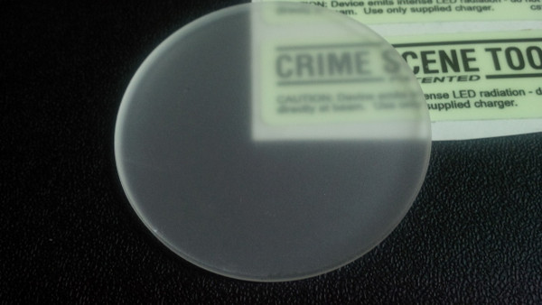 Replacement diffuse quartz lens for MR6/7/8 Crime Scene and UV inspection lights
