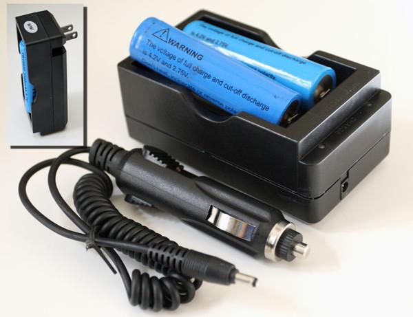 AC/DC Plug charger for 18650 Li-Ion batteries