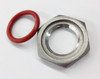 Oring and Lock Nut for Weldless Thermometer
