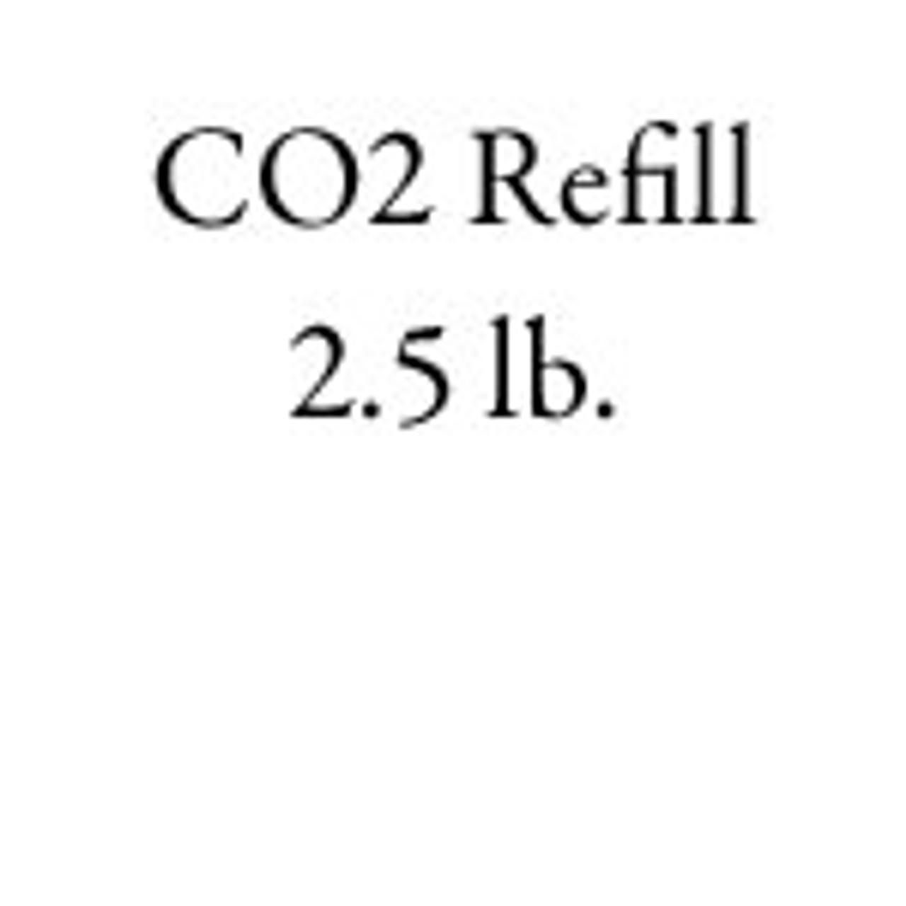 CO2 Refill 2 5 lb