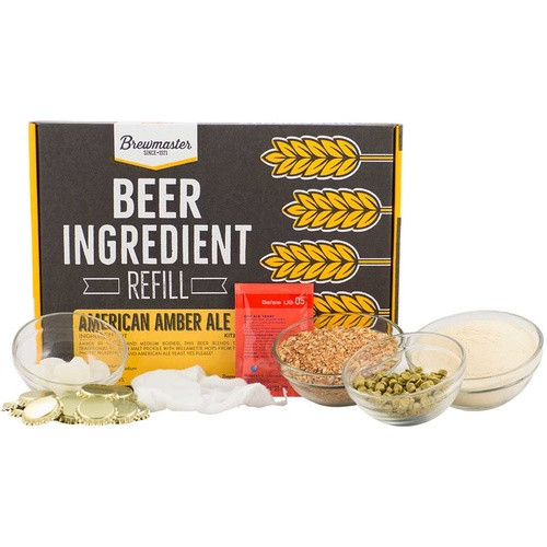 Beer Ingredient Refill Kit (1 Gal) - American Amber