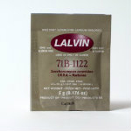 Lalvin 71B-1122 Wine Yeast 5 g