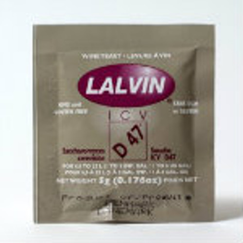 Lalvin ICV D-47 Wine Yeast 5 g