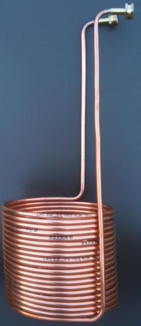 Quick Chill 50' Copper Immersion Chiller with Leak Proof Fittings