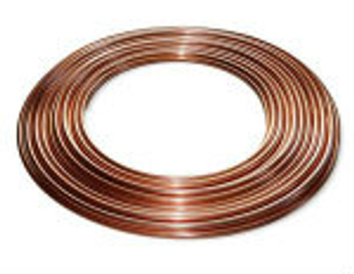 "50' of Copper Tubing 3/8"" OD"