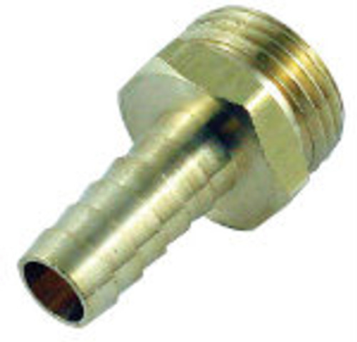 Garden Hose Fitting Male x 1/2'' Barb