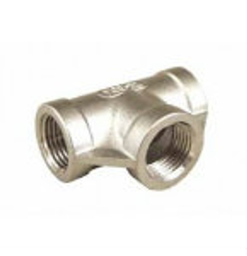 "Stainless Steel - 1/2"" Tee"