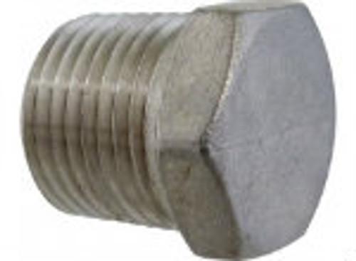 """Stainless Steel - 1/2"""" Plug"""