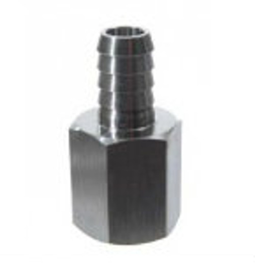 Stainless Steel - 1/2 in. FPT x 3/8 in. Barb