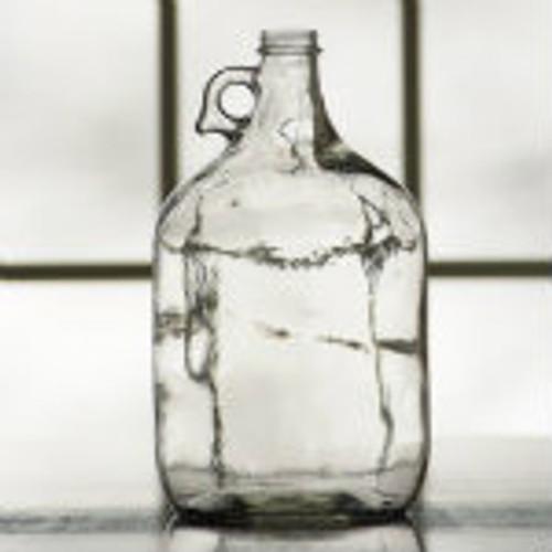 Glass Jug - 1 Gallon Clear (case of 4)