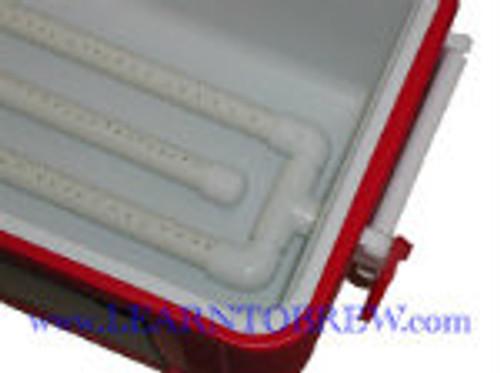 Picnic Cooler Mash Tun Conversion Kit (PVC)