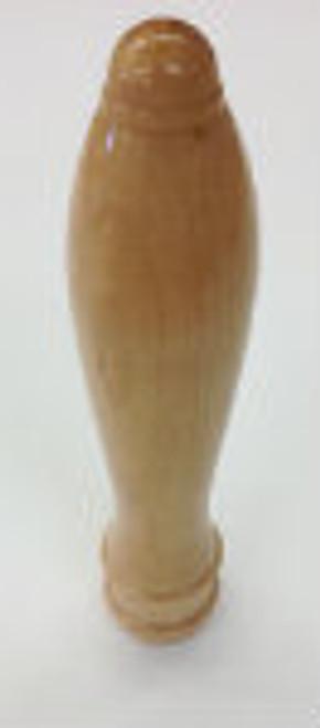 "Faucet Knob - Tall Natural 6"" Pub Style"