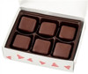 Holiday Chocolatey Fudge Samplers (6 Pieces)