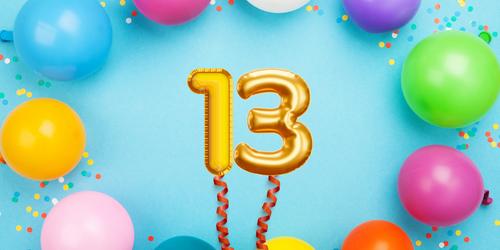 Celebrating 13 years!