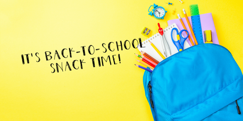 School [AKA Snack Time] Is in Session!