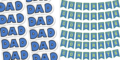 It's the season of DADS & GRADS!
