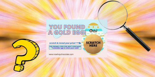 Will you find a GOLD EGG in your order?!