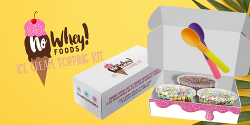 NEW THIS SUMMER - Ice Cream Topping Kit!