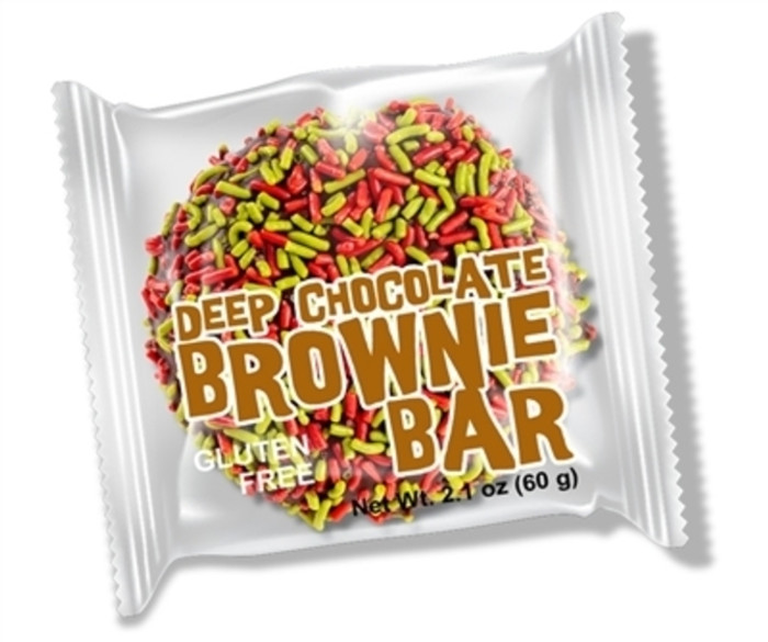 Deep Chocolate Holiday Brownie Bar