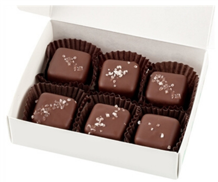 Sea Salt Caramels (6 Pieces)