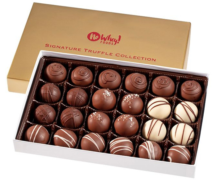 Signature Holiday Truffle Collection (24 pieces)