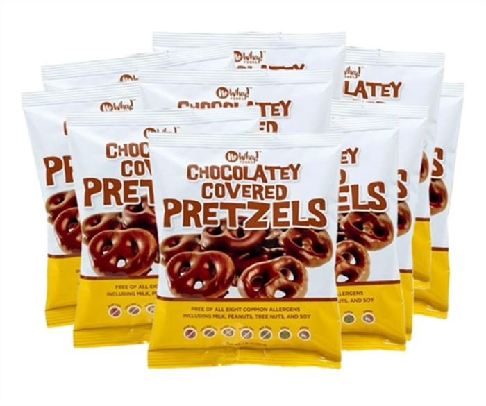 Family Chocolatey Covered Pretzels (10 Units)