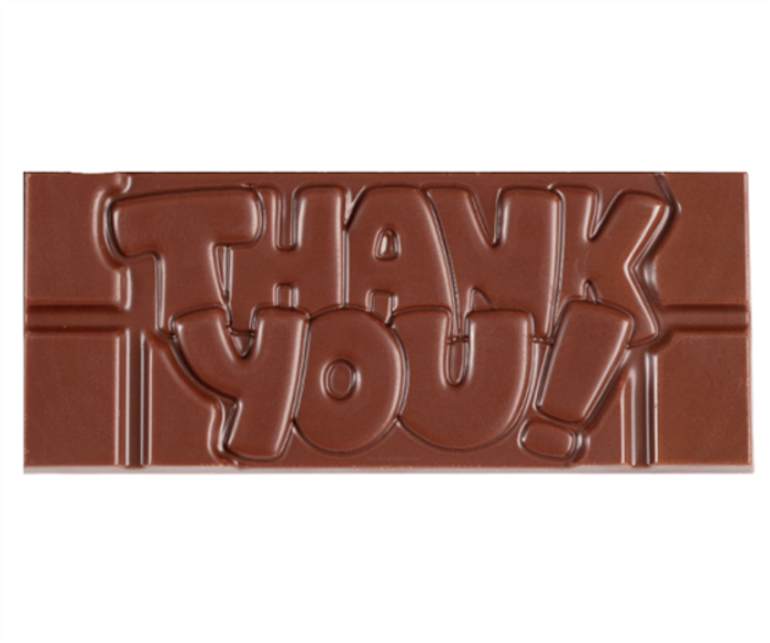 """Thank You"" Milkless Bar"
