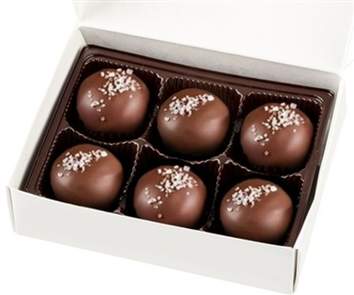 Salted Caramel Truffles (6 pieces)