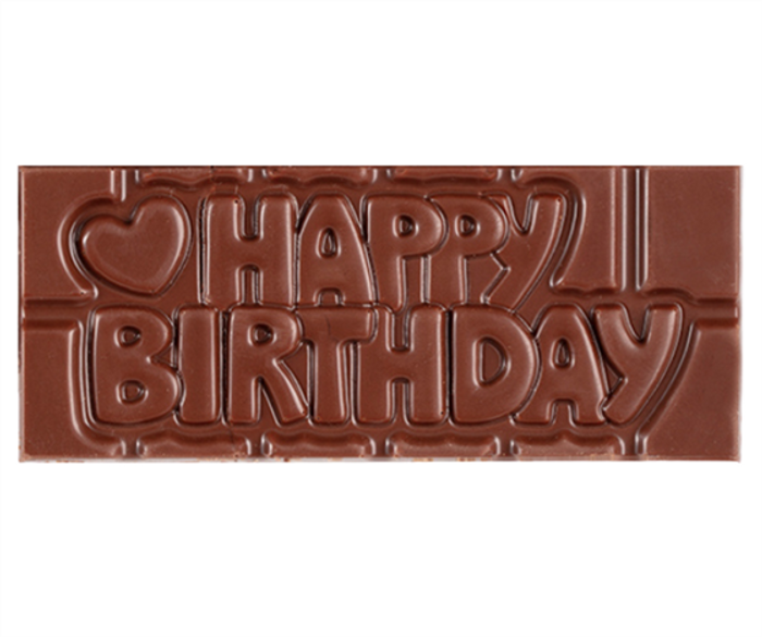 """Happy Birthday"" Milkless Bar"