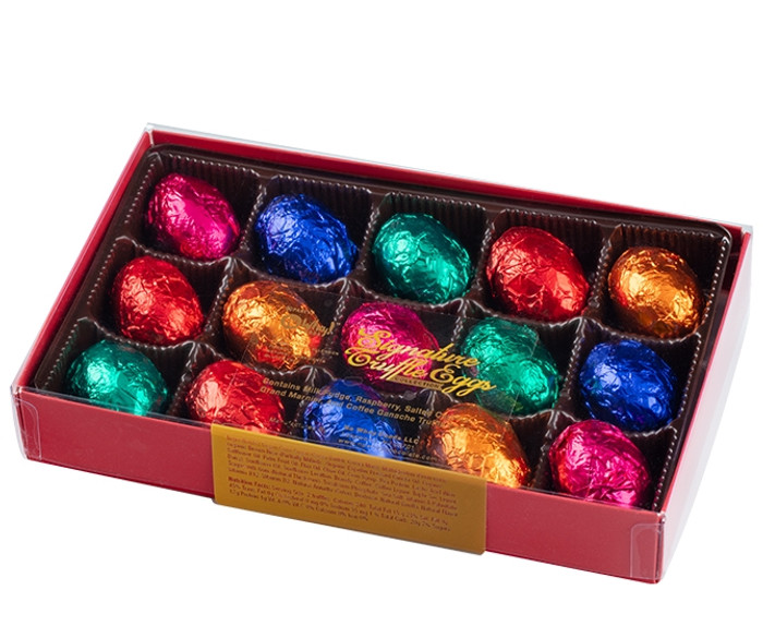 Signature Truffle Eggs Collection (15 Pieces)