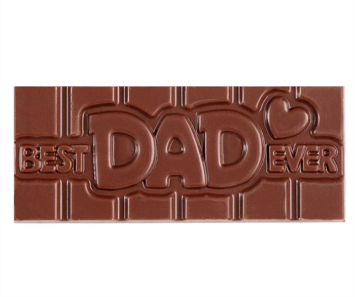 """Best Dad Ever"" Milkless Bar"