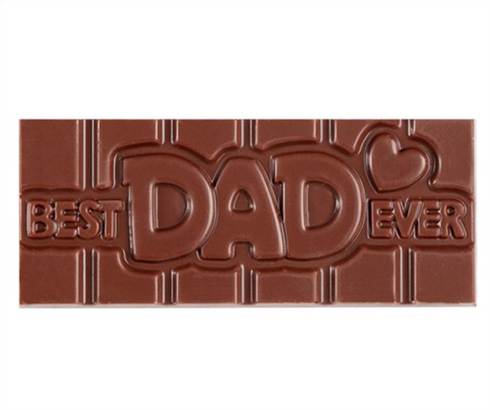 """""""Best Dad Ever"""" Milkless Bar"""