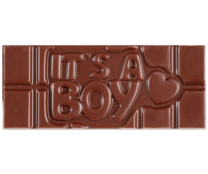 """It's a Boy"" Milkless Bar"
