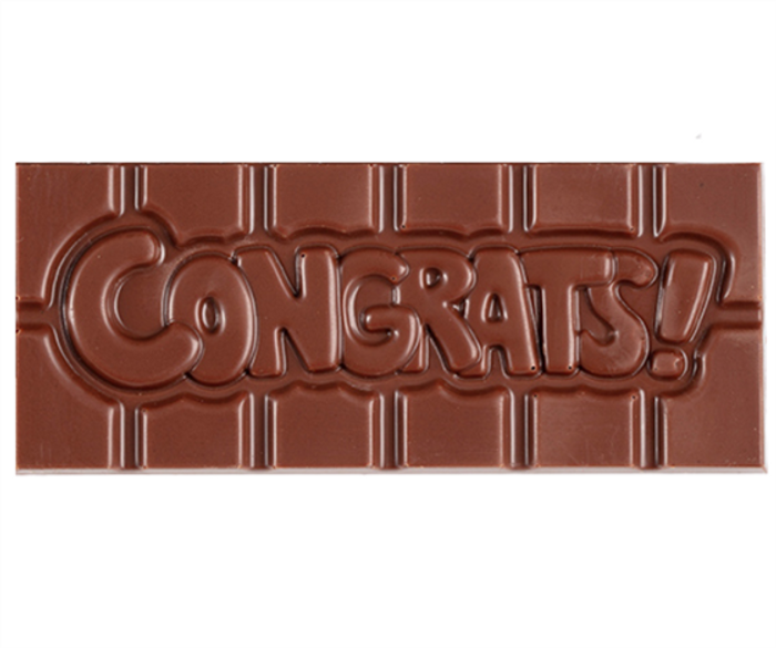 """Congrats"" Milkless Bar"