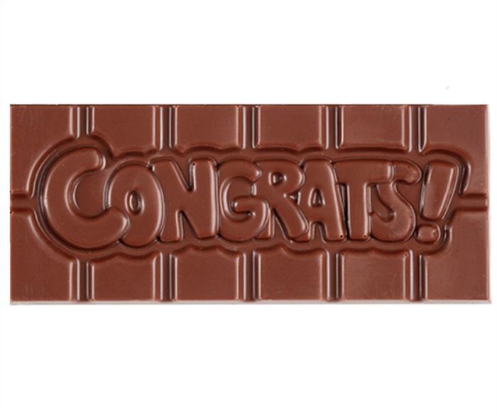 """Congrats"" Milkless Bar"
