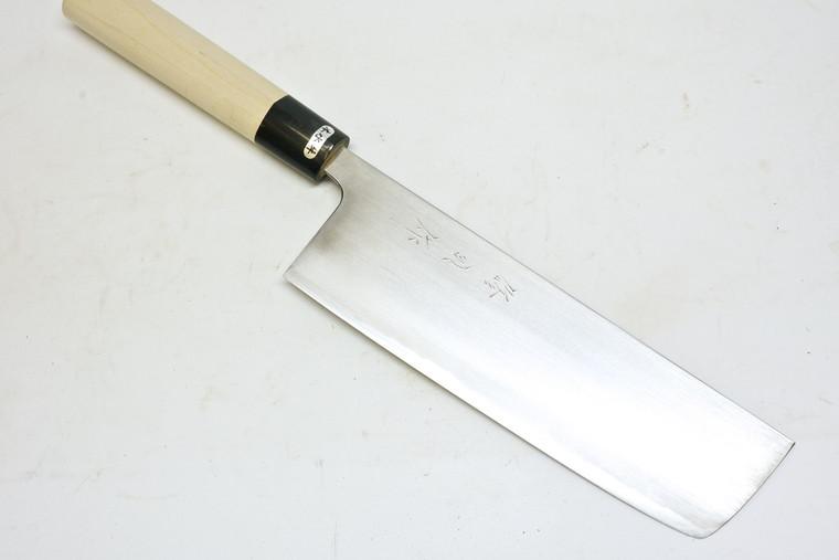 Toyama Noborikoi Kasumi Nakiri Stainless Clad 210mm