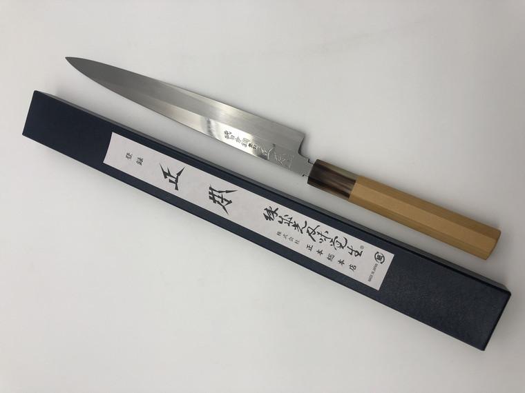 Masamoto HA Honyaki Yanagiba Mirror 270mm old stock NOS
