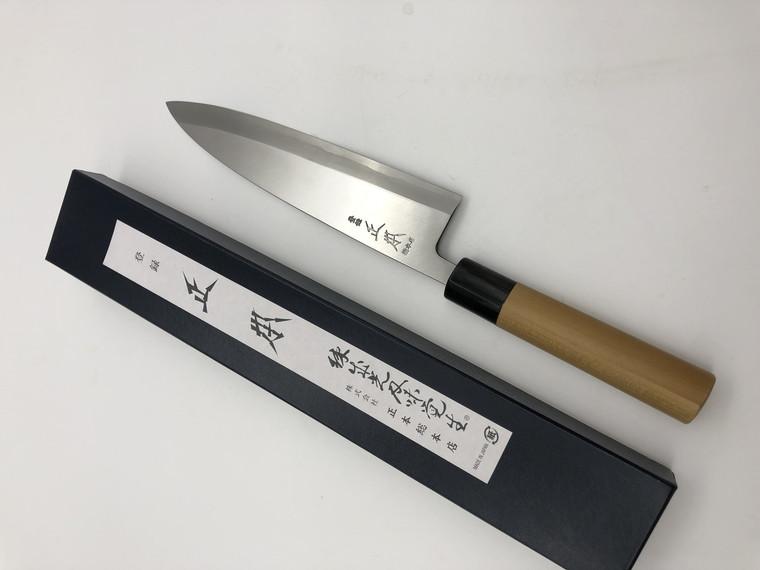Masamoto KS Mioroshi Deba 210mm old stock NOS