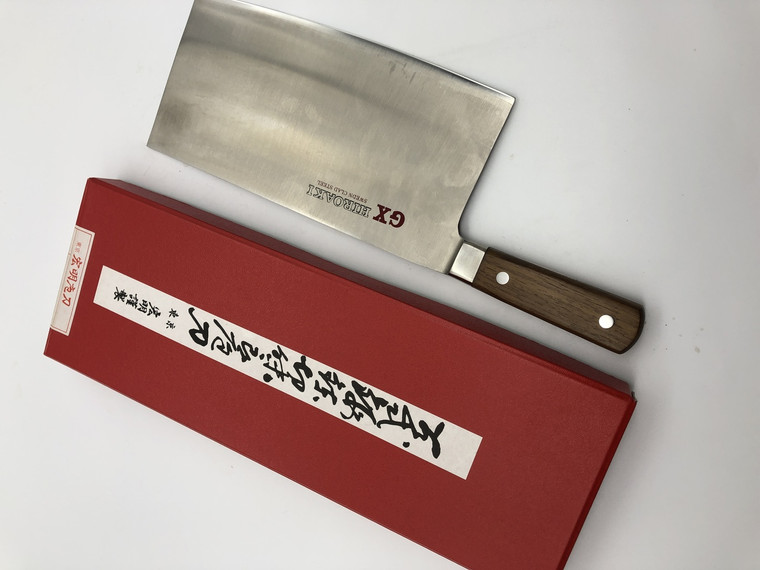 GX Hiroaki Vegetable Cleaver 215mm old stock NOS