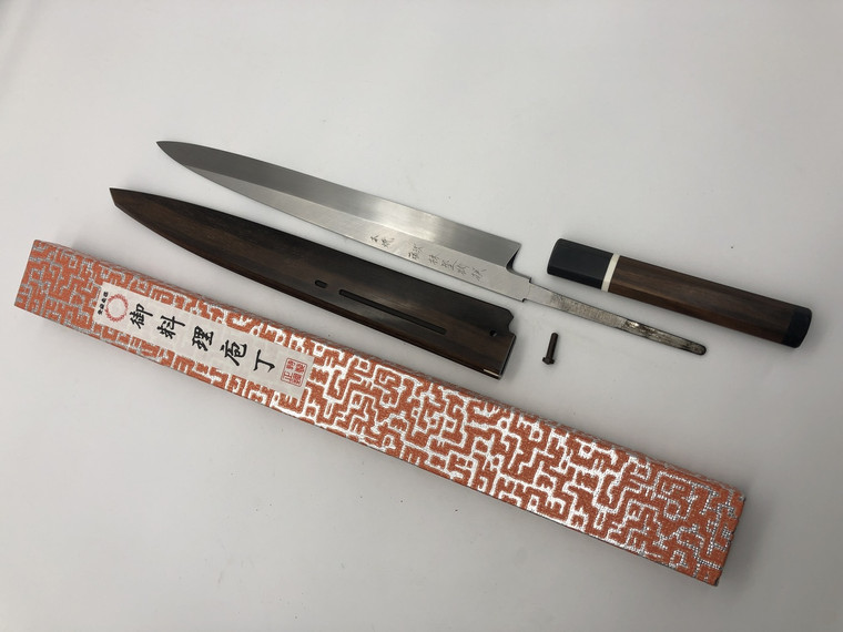 Kaneshige Honyaki Yanagiba 300mm Blue 2