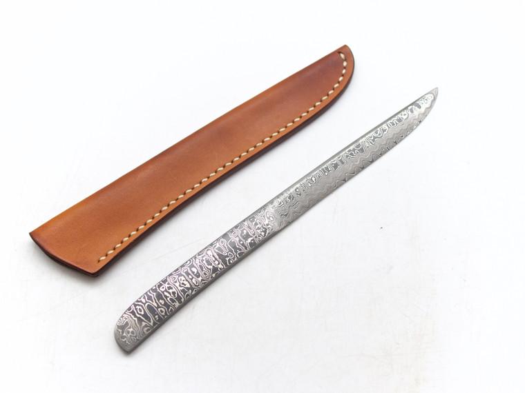 Kiyoshi Kato Kasumi Damascus Utility or Paper Knife 200mm
