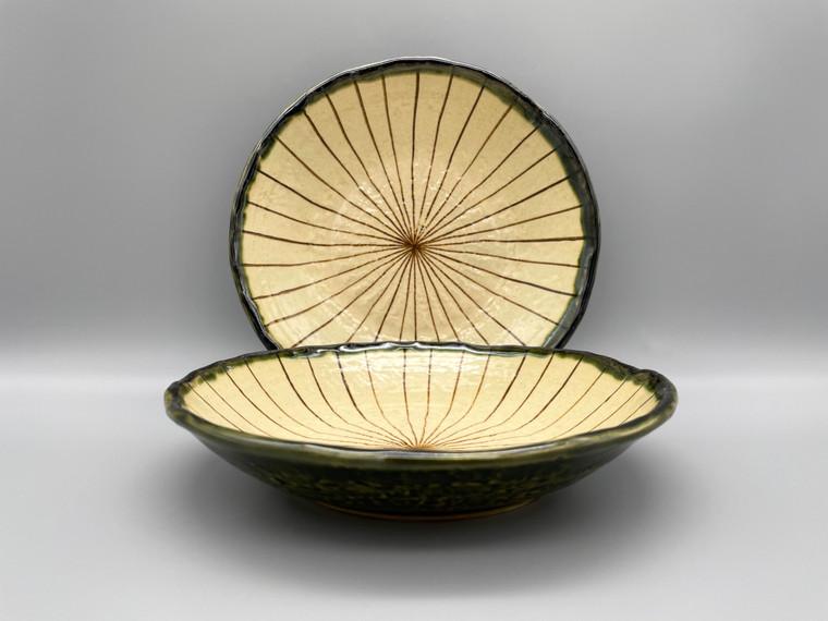 Japanese Sashimi Sun Rays  Bowls