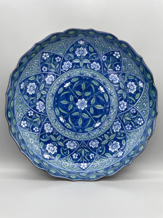 Arita Yaki Ryuuhougama Porcelain Plate