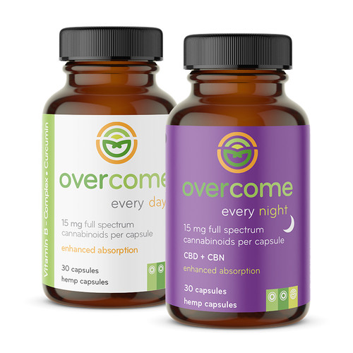 Overcome Every Day & Every Night Capsule Combo Pack Deal